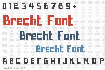 Brecht Font