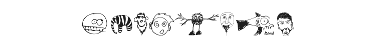 Brian powers Doodle Font