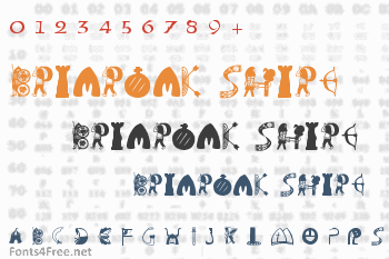 Briaroak Shire Font