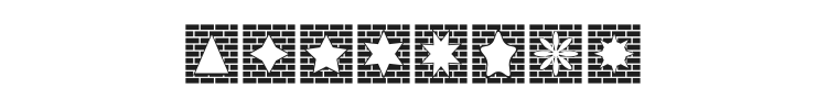 Bricks n Things Font Preview