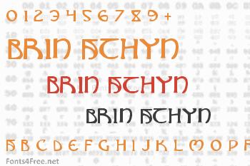 Brin Athyn Font