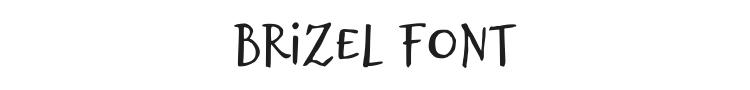 Brizel Font Preview