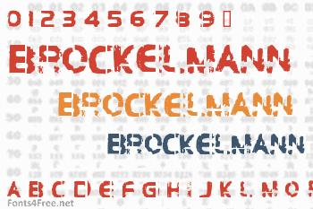 Brockelmann Font