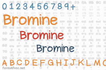 Bromine Font