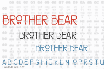 Brother Bear Font