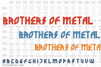 Brothers of Metal Font