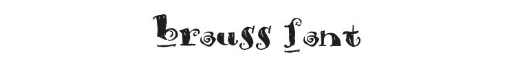 Brouss Font