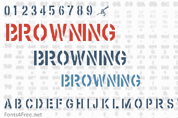 Browning Font