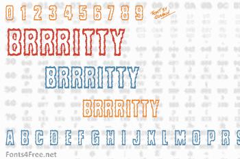 Brrritty Font