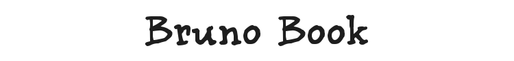 Bruno Book Font Preview