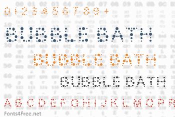 Bubble Bath Font