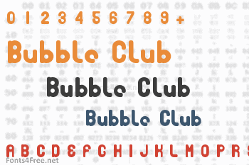 Bubble Club Font