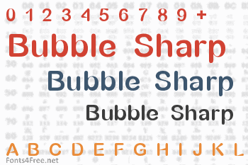Bubble Sharp Font