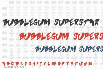 Bubblegum Superstar Font