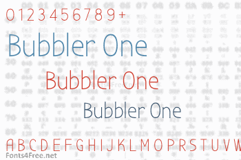 Bubbler One Font