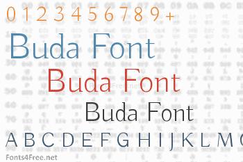 Buda Font