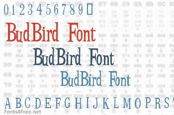 BudBird Font