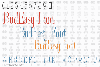 BudEasy Font