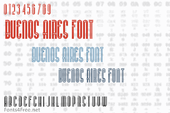 Buenos Aires Font