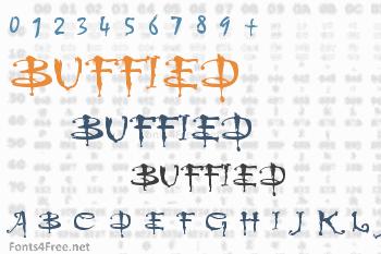 Buffied Font