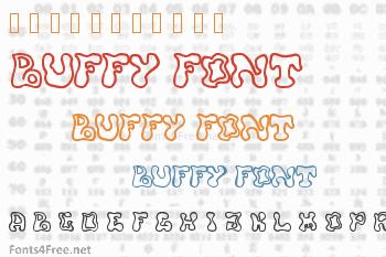 Buffy Font