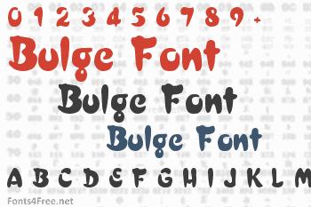 Bulge Font