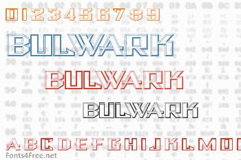 Bulwark Font