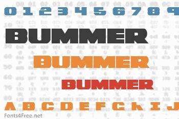 Bummer Font