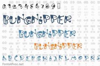 Bungnipper Font