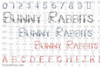 Bunny Rabbits Font