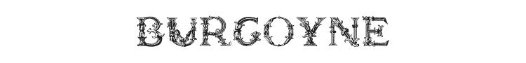 Burgoyne Initials Font