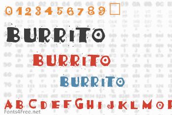 Burrito Font
