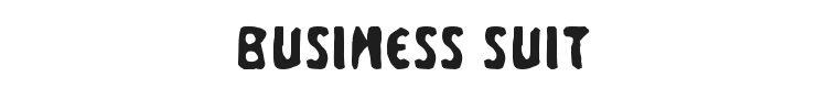 Business Suit Font Preview