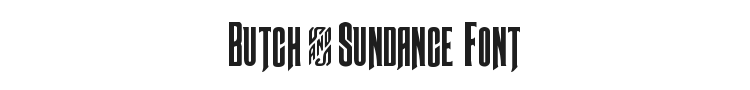 Butch & Sundance Font Preview