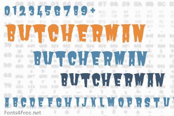 Butcherman Font