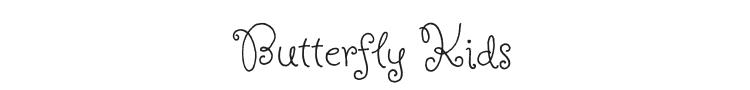 Butterfly Kids Font