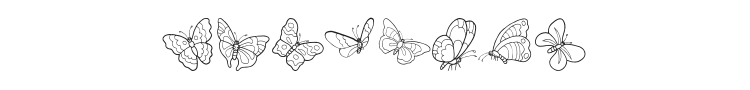 ButterFly Font Preview