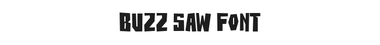 Buzz Saw Font