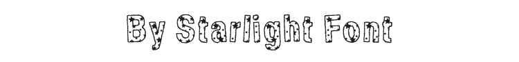By Starlight Font