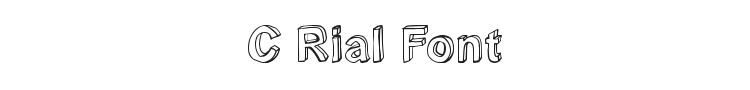 C Rial Font