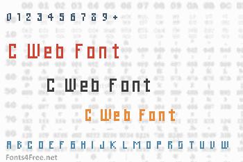 C Web Font