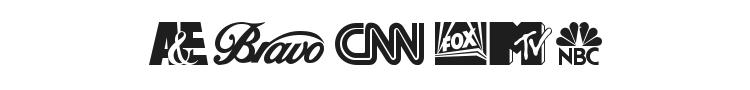 Cable Dingbats Font Preview