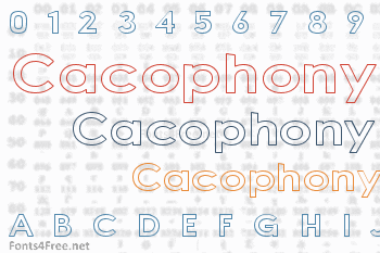Cacophony Out Loud Font