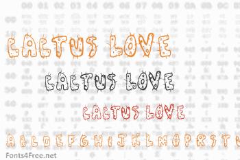 Cactus Love Font