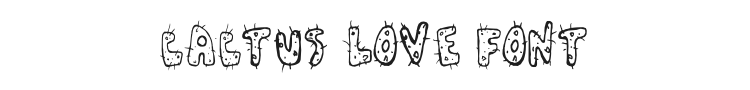 Cactus Love Font Preview