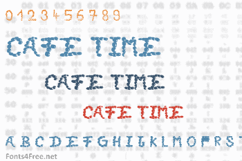 Cafe Time Font