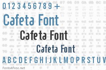 Cafeta Font