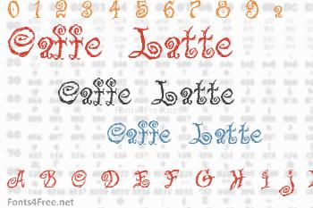 Caffe Latte Font