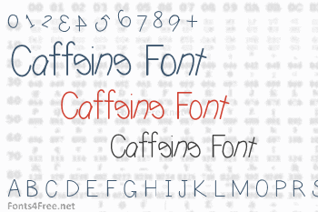 Caffeine Font