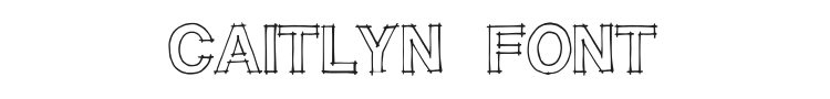 Caitlyn Font Preview